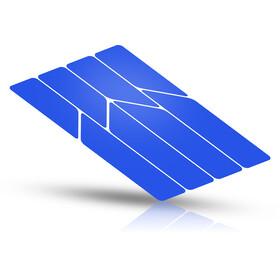 Riesel Design re:flex frame Reflektierende Aufkleber blau